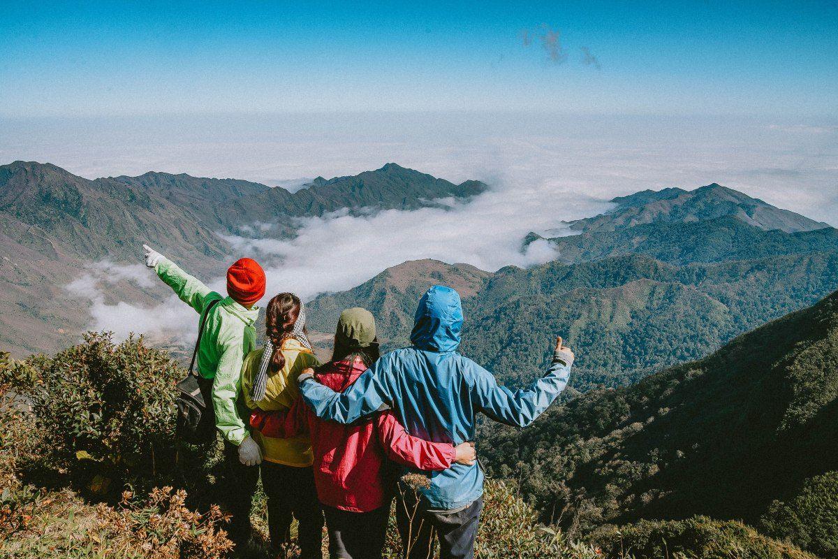 thời điểm nào thích hợp leo núi ở việt nam 5