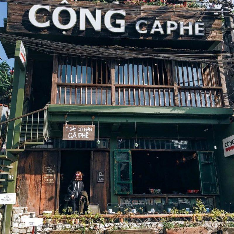 Cộng cà phê Sapa