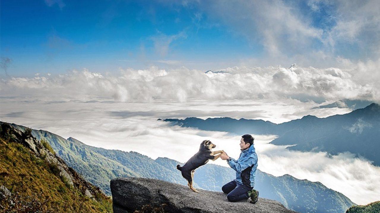 Đường đi đỉnh núi Lùng Cúng