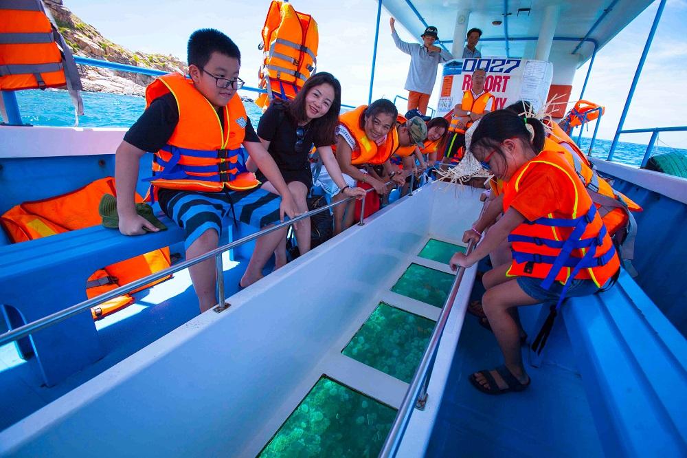 những trò chơi mạo hiểm trên biển