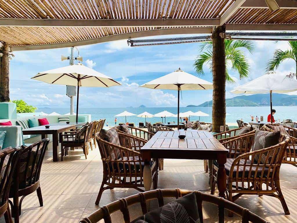 quán cà phê view biển ở nha trang