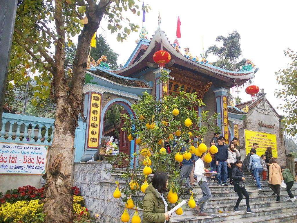 cách đi đền ông Hoàng Bảy Lào Cai